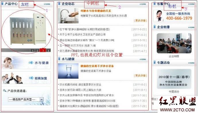 企业网站主页布局中的关键词竞争力度分析