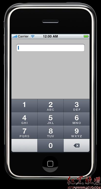 iPhone键盘