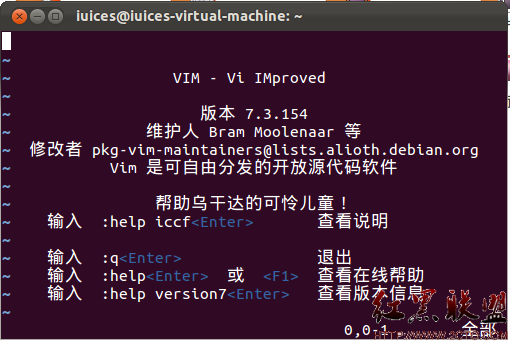 vi编辑器的使用(1)linux作系统:uuntu_centos