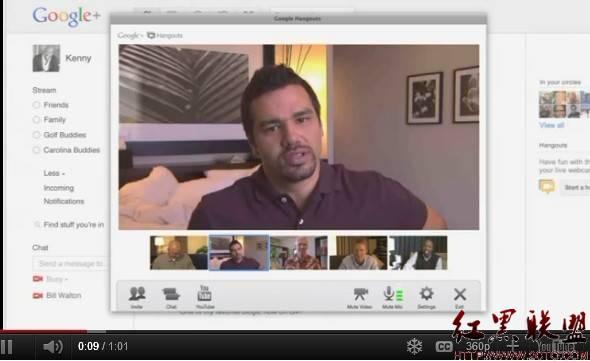 谷歌三款新电视广告主推Google+及Hangouts